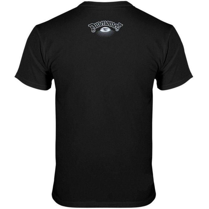 tričko pánské AMENOMEN - Skeleton Da Vinci - BLK