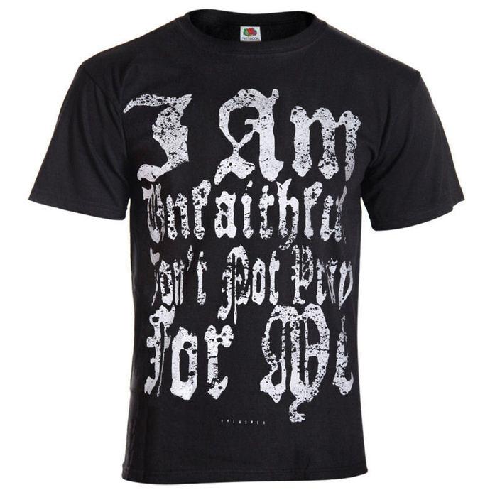 tričko pánské AMENOMEN - I Am Unfaithful - BLK