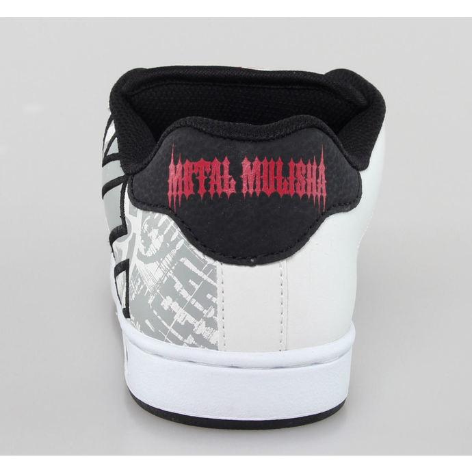 boty pánské ETNIES - Metal Mulisha - Fader - White/Black/Red