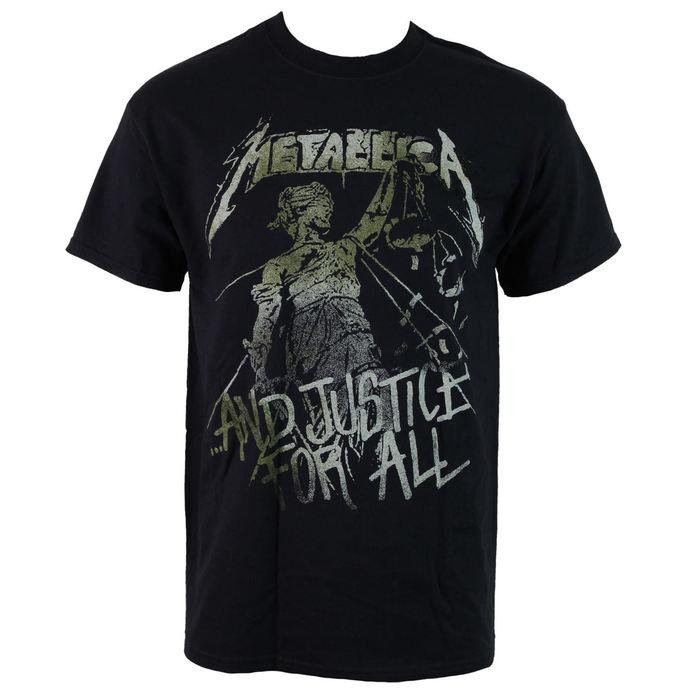 tričko pánské Metallica - Vintage Justice
