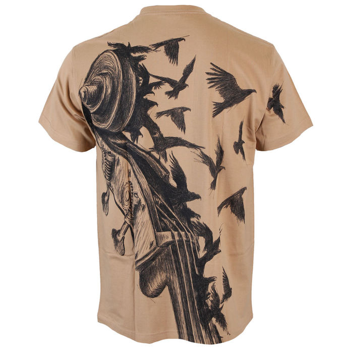 tričko pánské ALISTAR - Bass&Crows - Beige