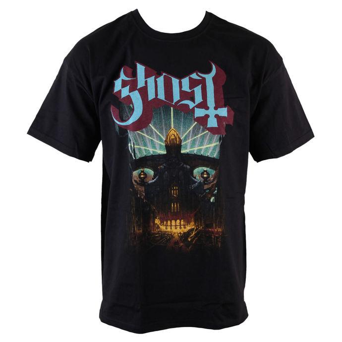 tričko pánské Ghost - Meliora - Blk - ROCK OFF