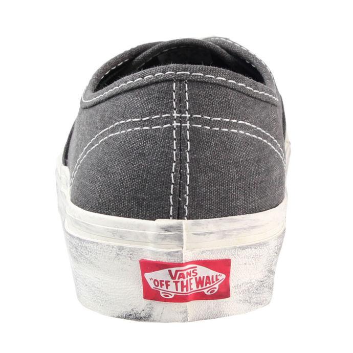 boty VANS - Authentic (Overwashed) - Black