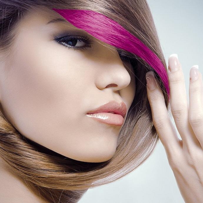 barva (řasenka) na vlasy STAR GAZER - New Neon Red