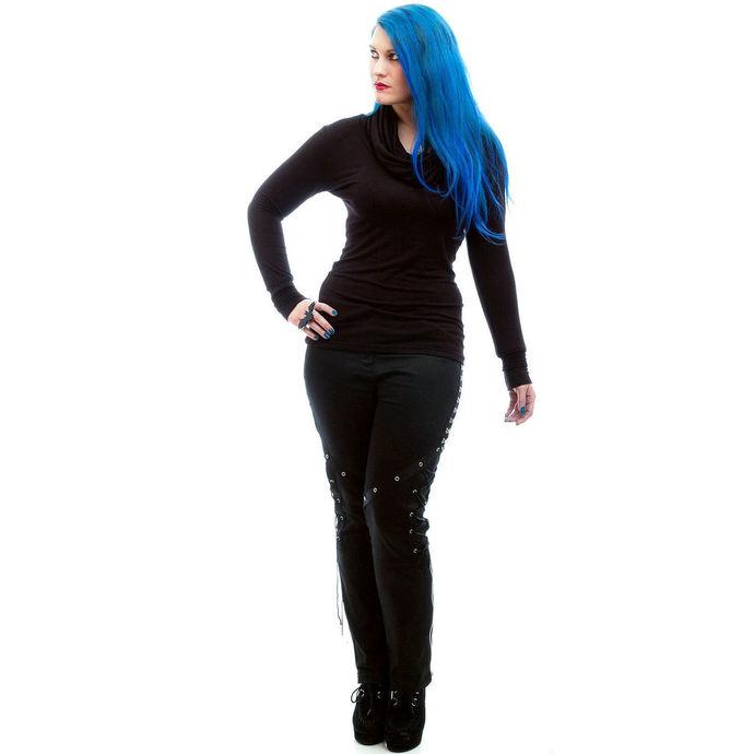 tričko dámské s dlouhým rukávem NECESSARY EVIL - Gothic Dunne - Black