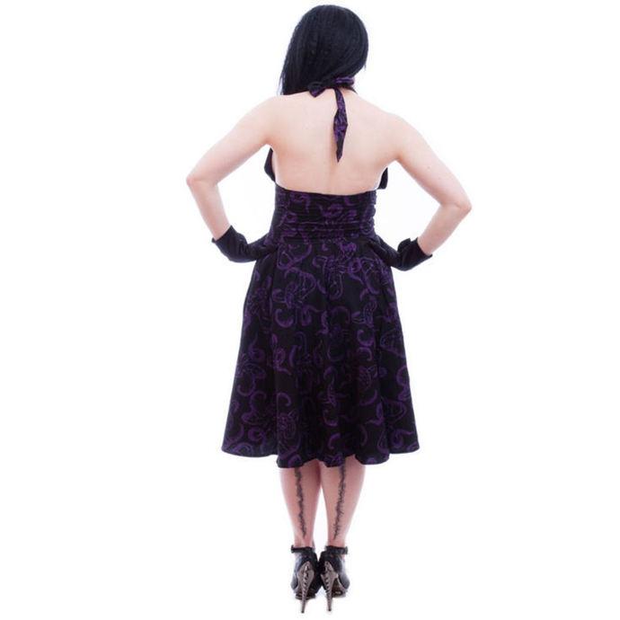 šaty dámské NECESSARY EVIL - Feronia 50s - Black