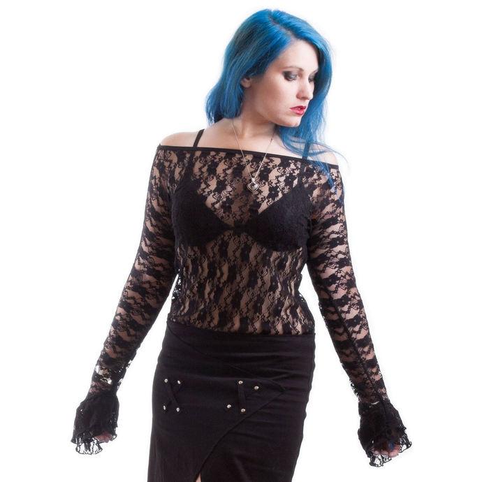 tričko dámské s dlouhým rukávem NECESSARY EVIL - Ziva - Black