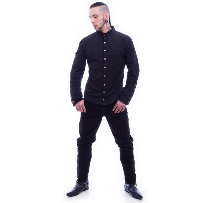 košile pánská NECESSARY EVIL - Chronus - Black
