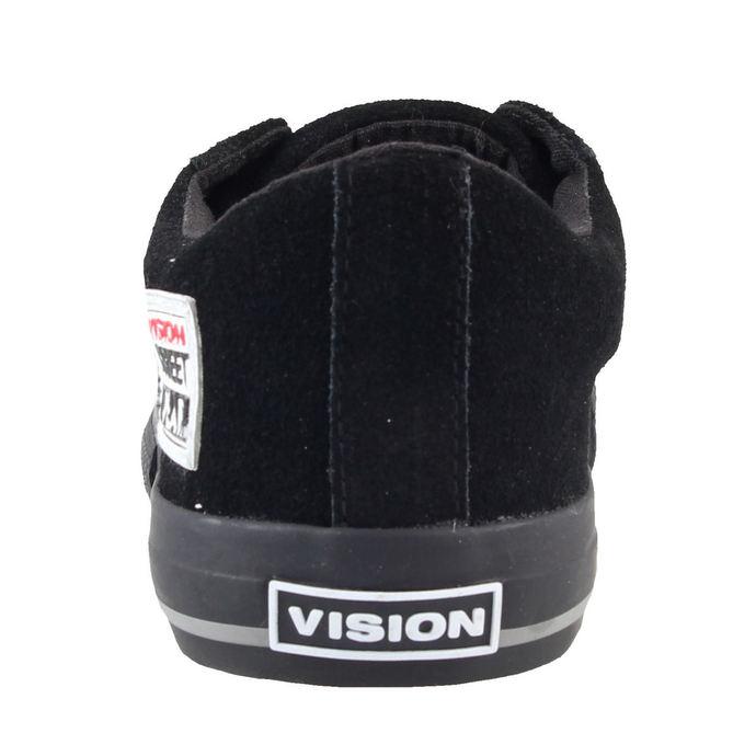 boty pánské VISION - Suede Lo - Black/Black