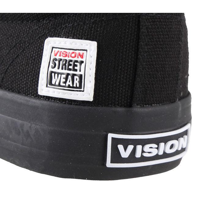 boty VISION - Slip On - Black