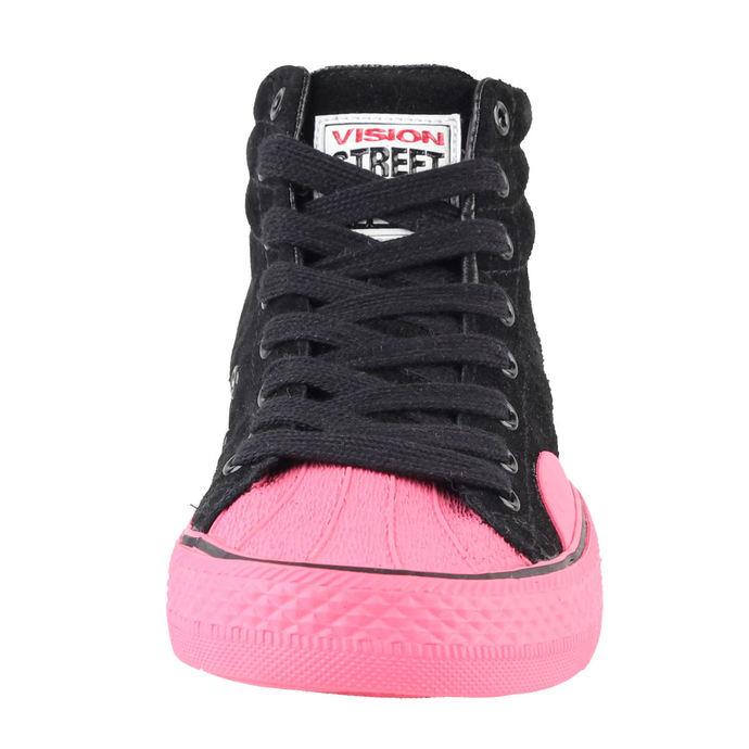 boty dámské VISION - Suede HI - Black/Pink