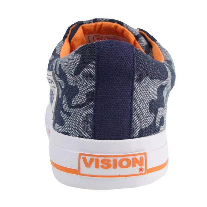 boty dámské VISION - Canvas LO - Blue/Camo