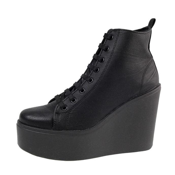 boty dámské ALTERCORE - Bird PU - Black