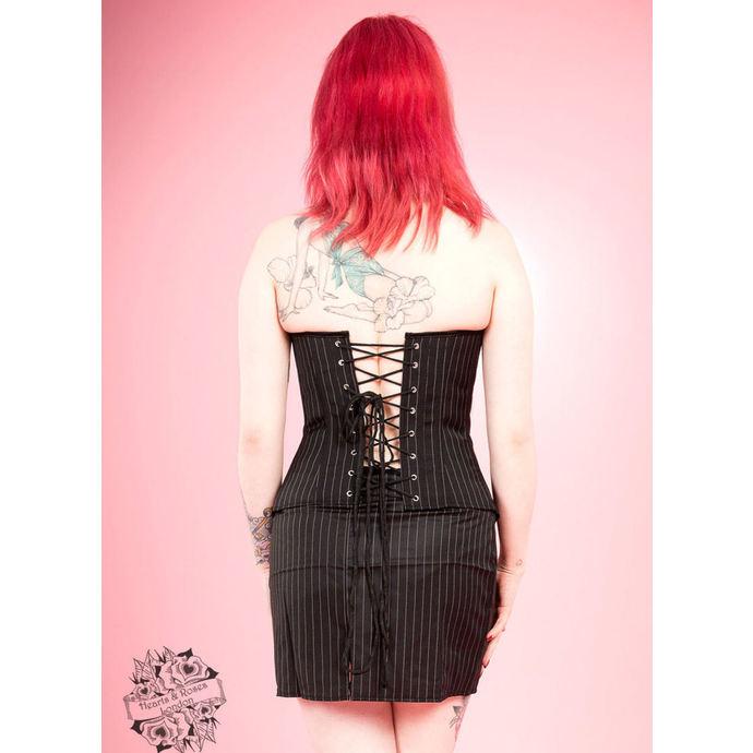 korzet a sukně dámská HEARTS AND ROSES - Amoureux Embroidery