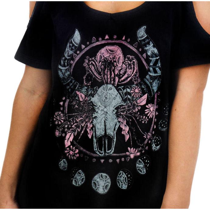 tričko dámské (top) TOO FAST - Cosmic Cow