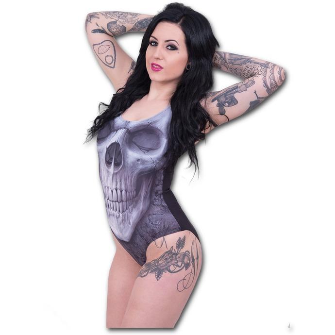 plavky dámské SPIRAL - Solemn Skull
