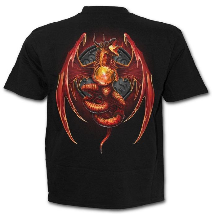 tričko pánské SPIRAL - Dragon´s Wrath - Black