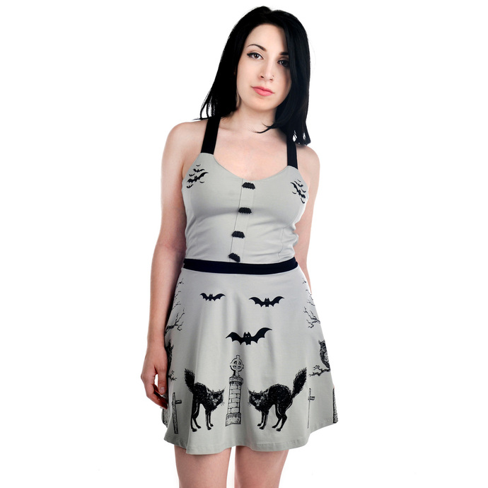 šaty dámské TOO FAST - Graveyard