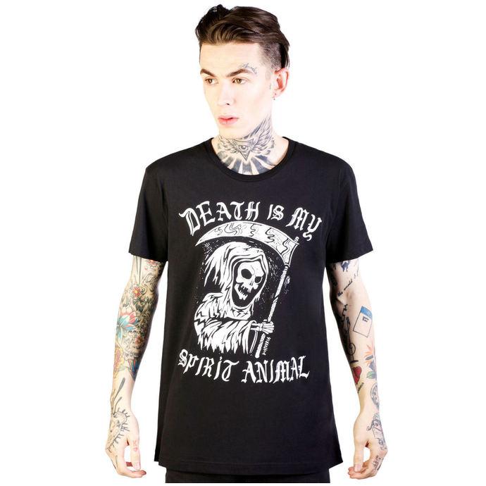 tričko pánské DISTURBIA - Spirit Animal - Black