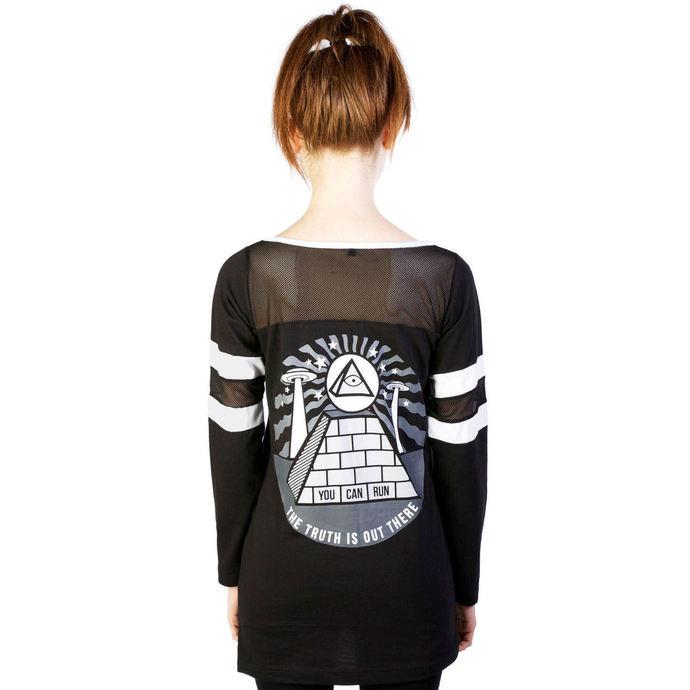 tričko dámské (tunika) DISTURBIA - Pyramid - Black