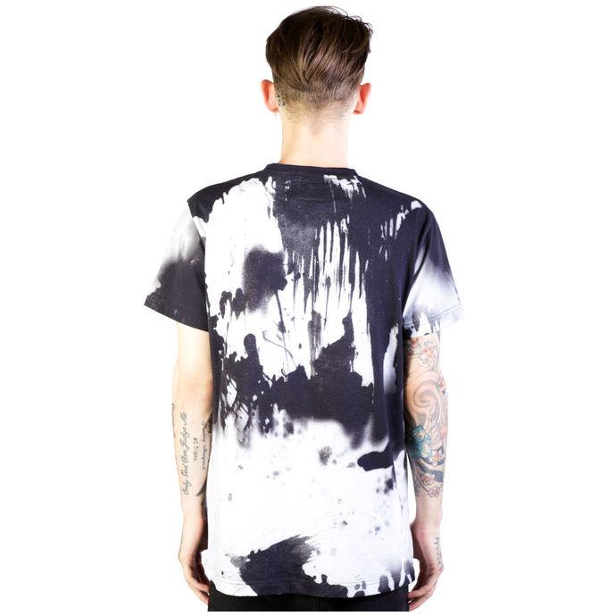 tričko pánské DISTURBIA - Ink - Black/White