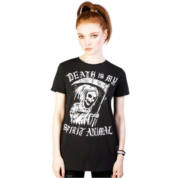 tričko dámské DISTURBIA - Spirit  Animal - Black