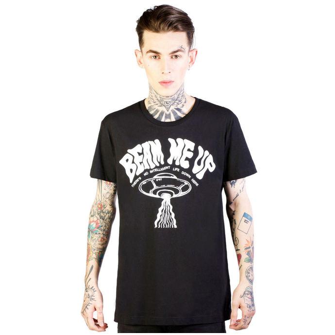 tričko pánské DISTURBIA - Beam - Black