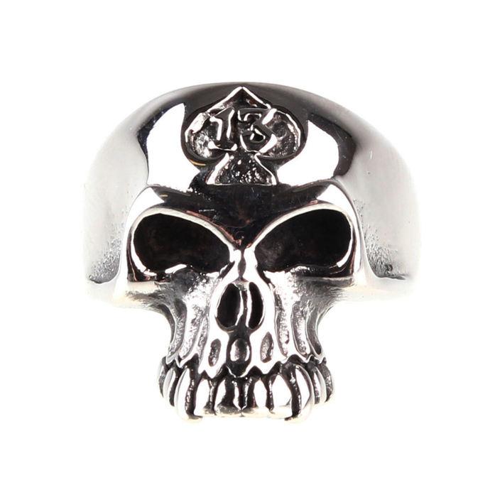 prsten ETNOX - Skull 13