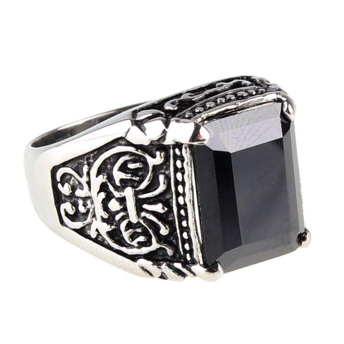 prsten ETNOX - Black Ornament