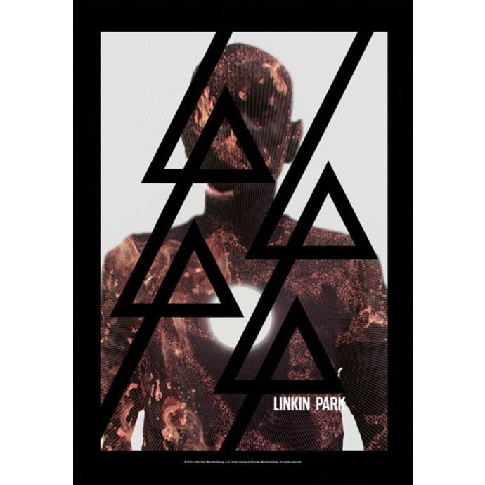 vlajka Linkin Park - Living - Burn It