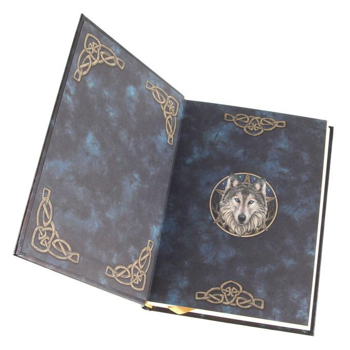 poznámkový blok Embossed Journal The Wild One