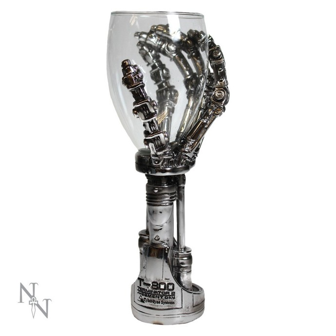 sklenička Terminator 2