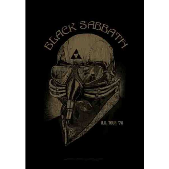 vlajka Black Sabbath - US Tour 78