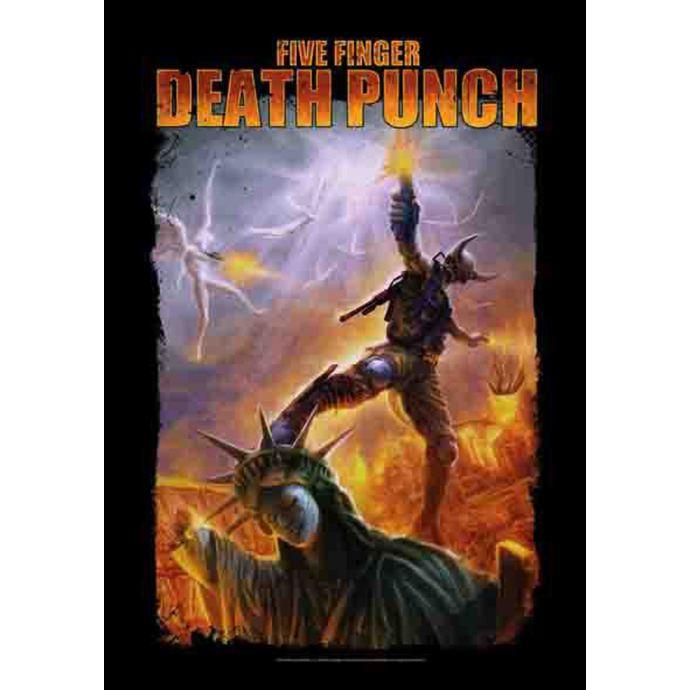 vlajka Five Finger Death Punch - Battle Of The God