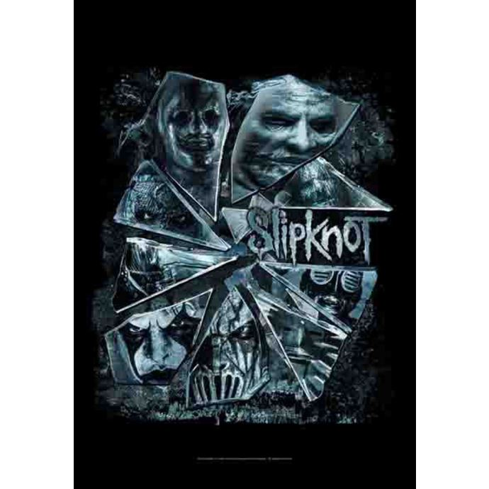 vlajka Slipknot - Broken Glass
