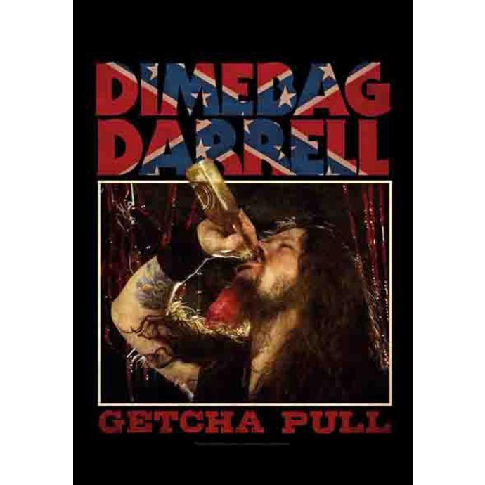 vlajka Dimebag Darrel - Getcha Pull