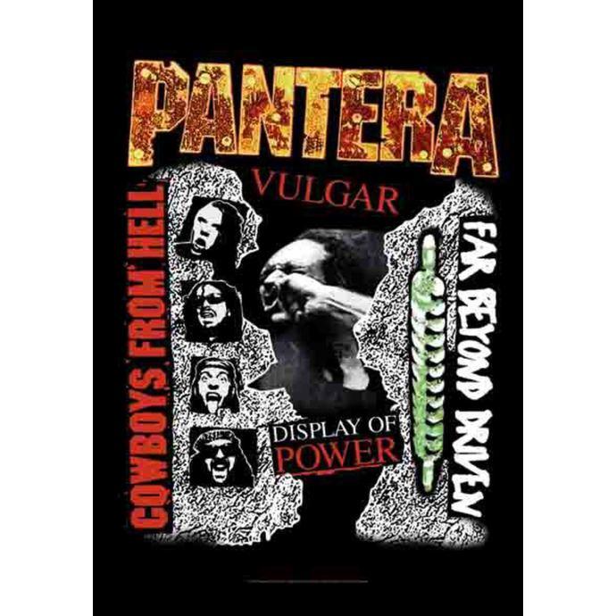vlajka Pantera - 3 Albums