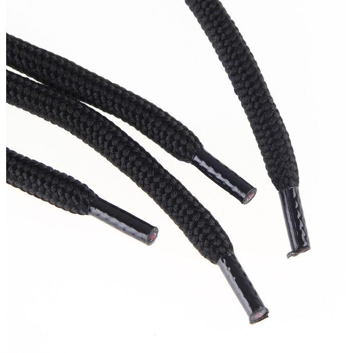 tkaničky STEEL 3 dírkové - Black