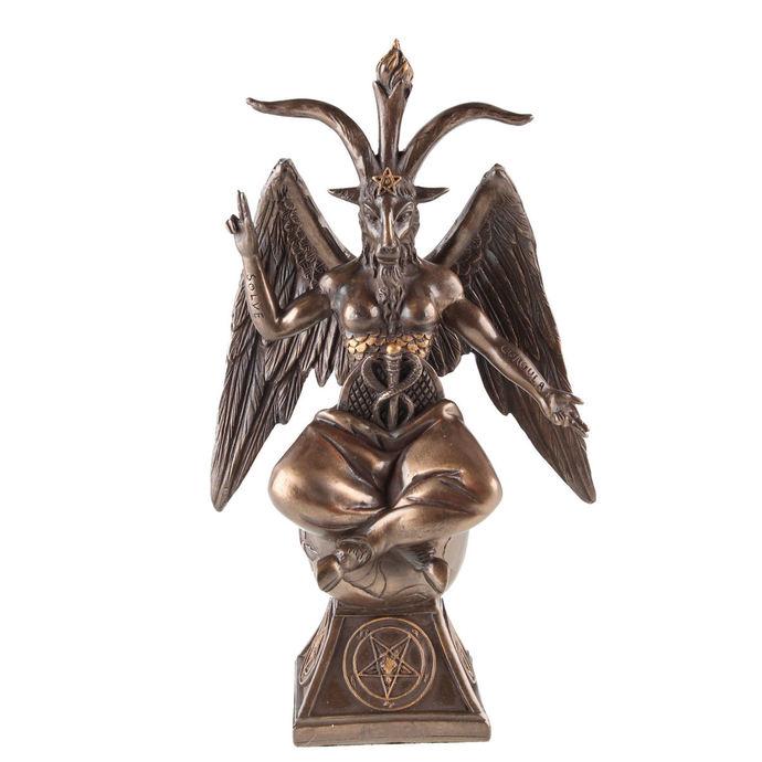 dekorace Baphomet - Bronze