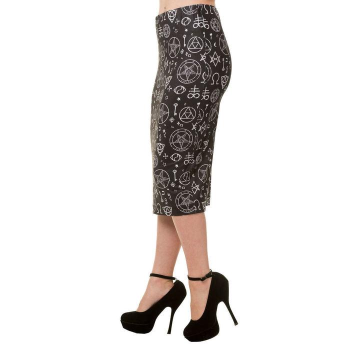 sukně dámská  BANNED - Black