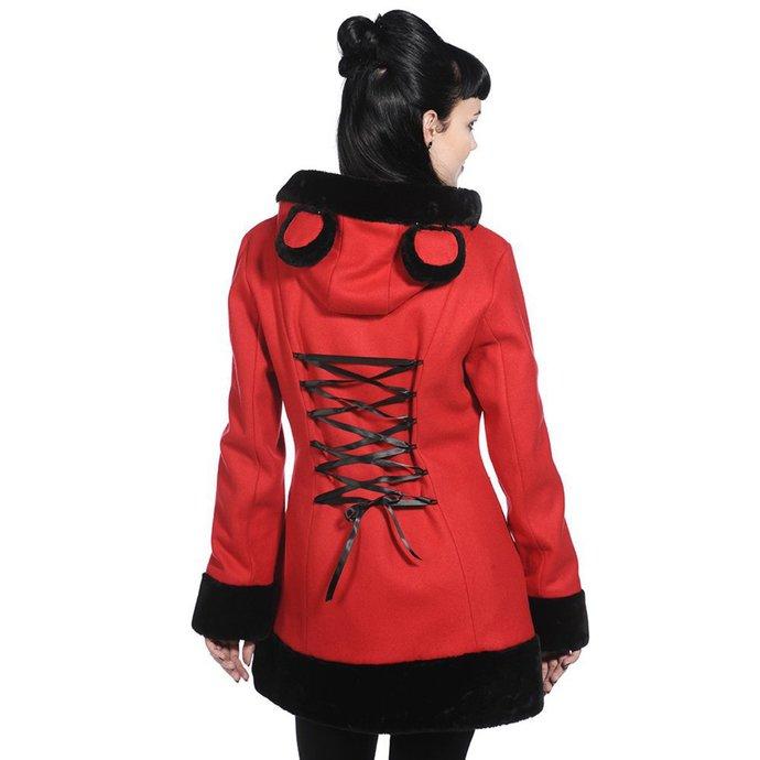 kabát dámský BANNED - Red