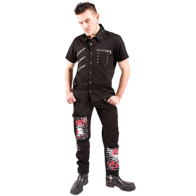 košile pánská DEAD THREADS - Black