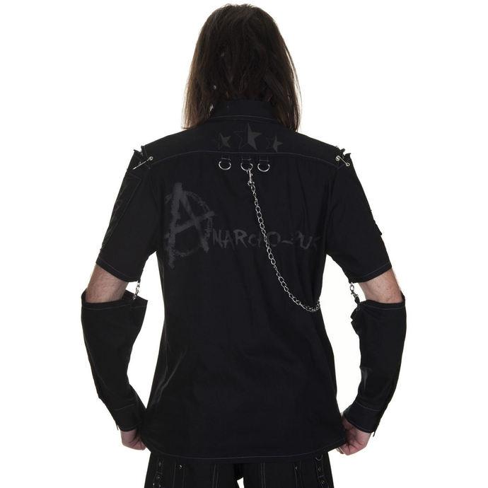 košile pánská DEAD THREADS - Grey