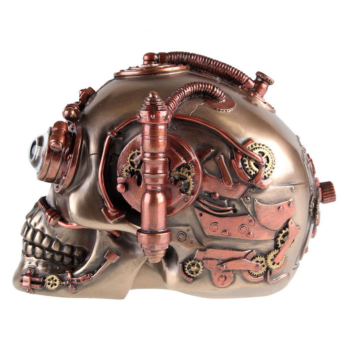 dekorace Steam Powered Observation Skull