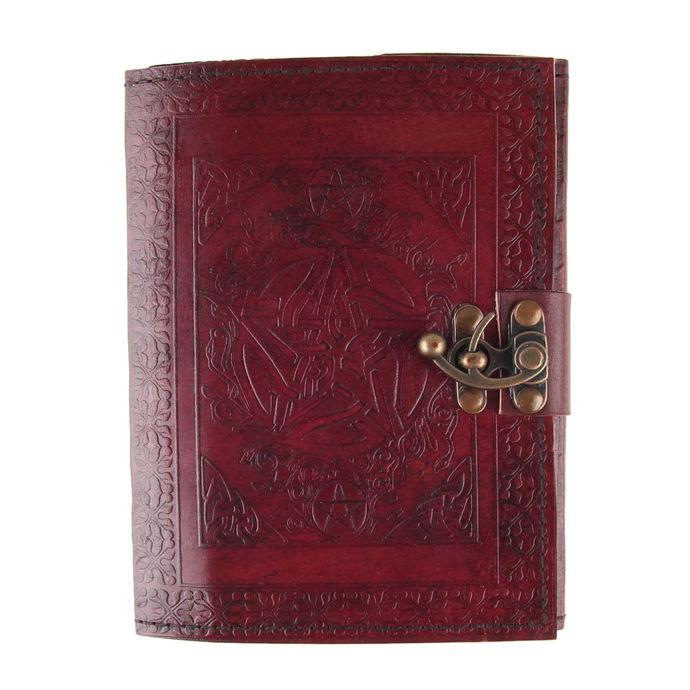 poznámkový blok Pentagram Leather Journal