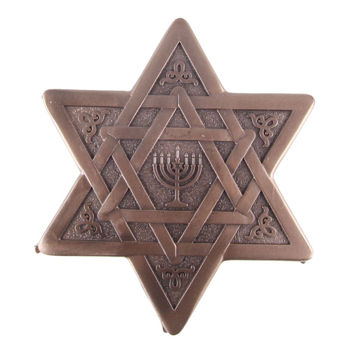 krabička (dekorace) Star of David & Menorah