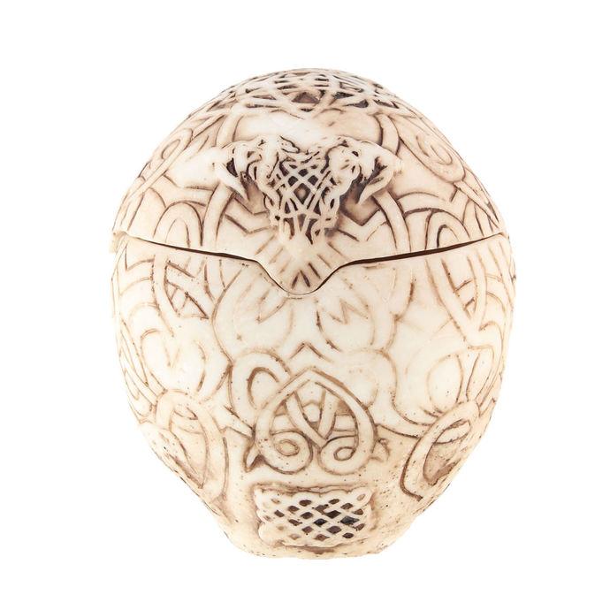 dekorace (krabička) Celtic Skull