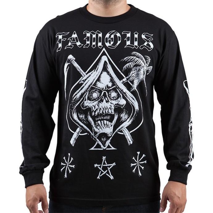 tričko pánské s dlouhým rukávem FAMOUS STARS & STRAPS - Relax Reaper