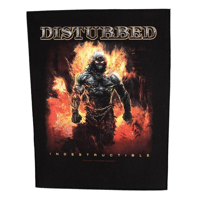 nášivka velká Disturbed - Indestructible - RAZAMATAZ