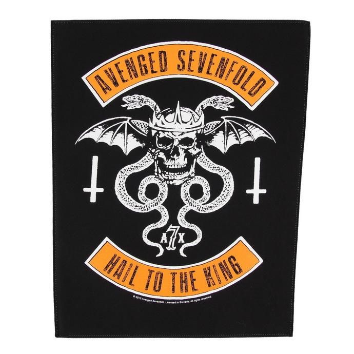 nášivka velká Avenged Sevenfold - Biker - RAZAMATAZ